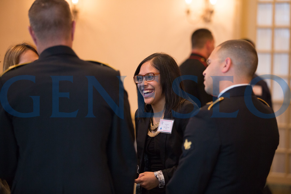 Savanna Sanchez speaks with members of the military // 856-295-3911 // savannasanchez98@gmail.com