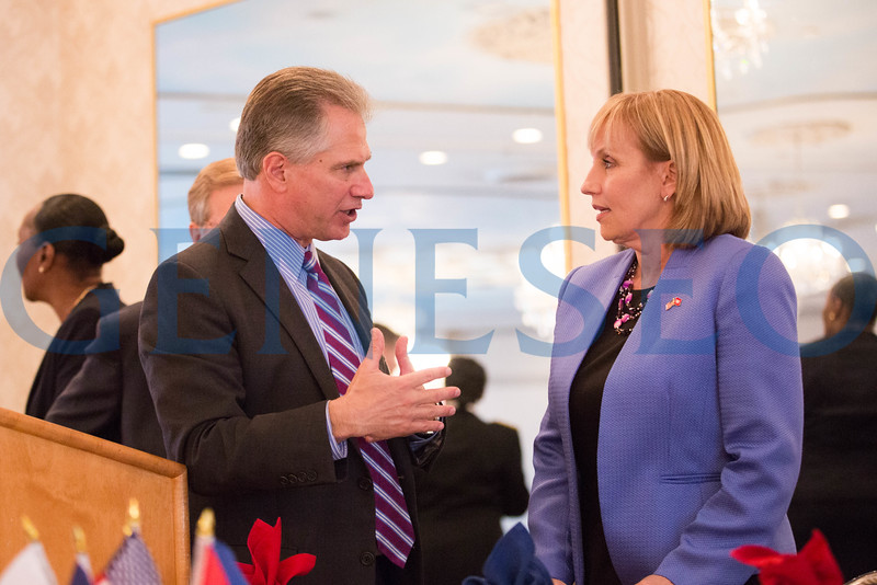 Ken Hartman talks with NJ LT Gov. Kim Guadagno