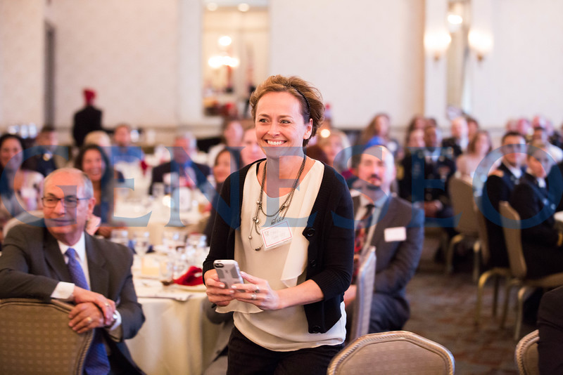 Cheryl Flaherty smiles as she watches her son, Maxwell accept recognition // cherylflats@gmail.com