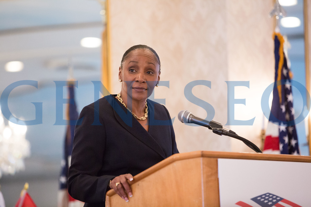 Command Sergeant Major Michele Jones was a featured speaker. First Female to reach the rank of CSM in Army Reserve
