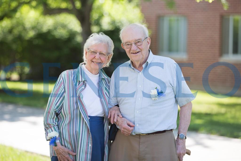 summer reunion 2016 Carl Swanson and Shirley Phelps Swanson