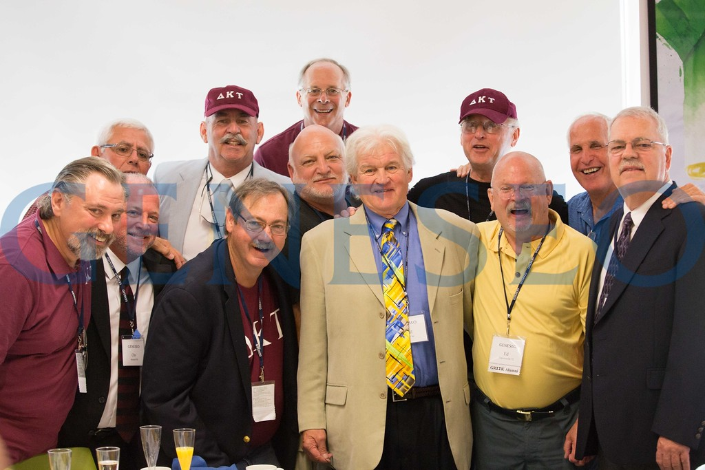 summer reunion 2016 — members of delta kappa tau fraternity