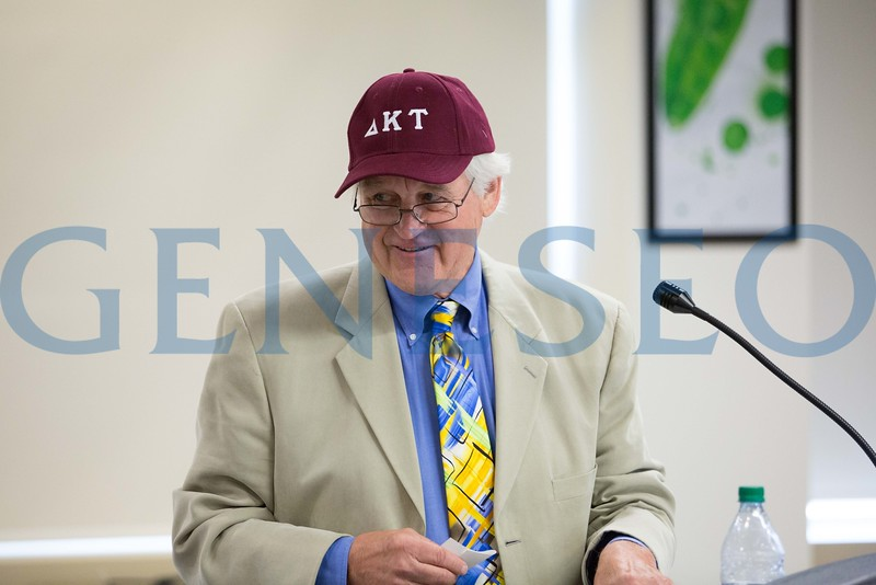 summer reunion 2016 - Phil Thrall '66, Delta Kappa Tau Fraternity and Greek Hall of Fame inductee.