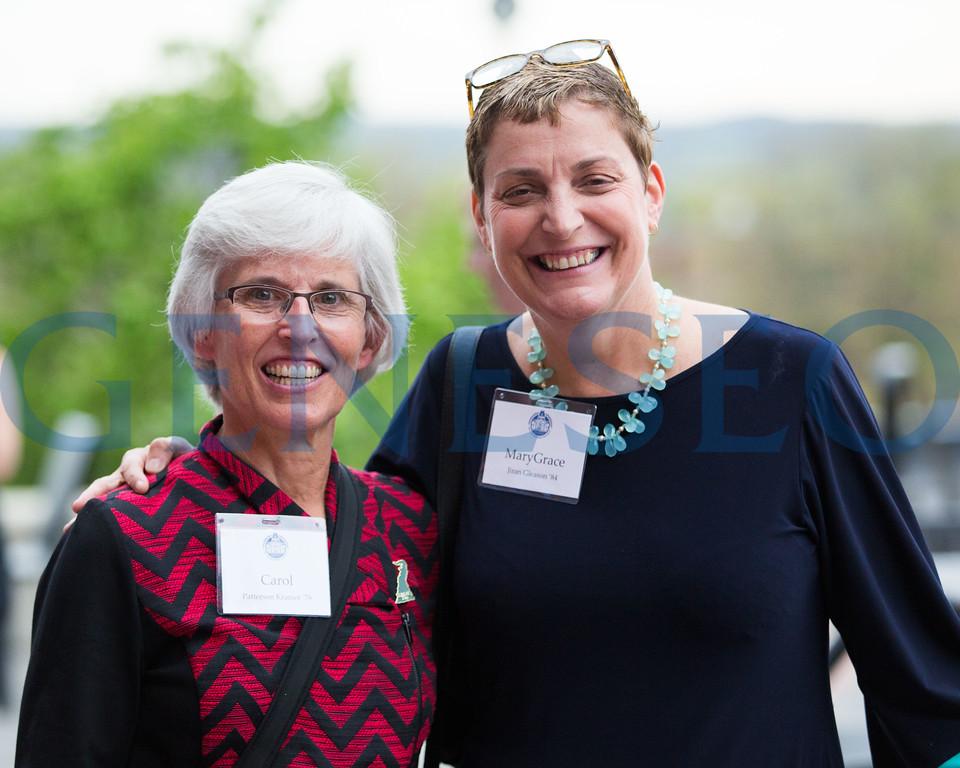Carol Kramer '76 and MaryGrace Gleason '84
