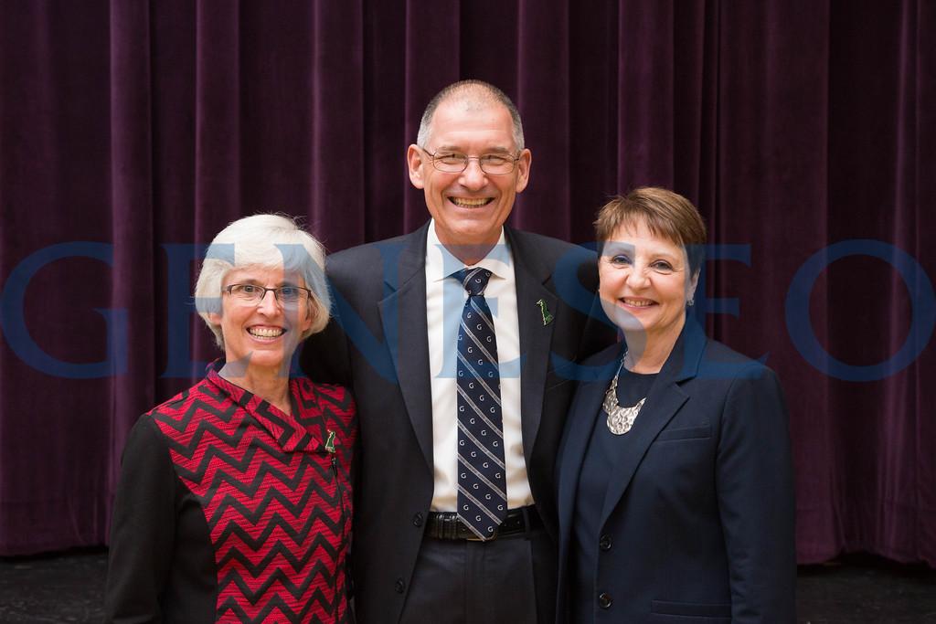 Carol and Jack Kramer with Jennifer Dunlap