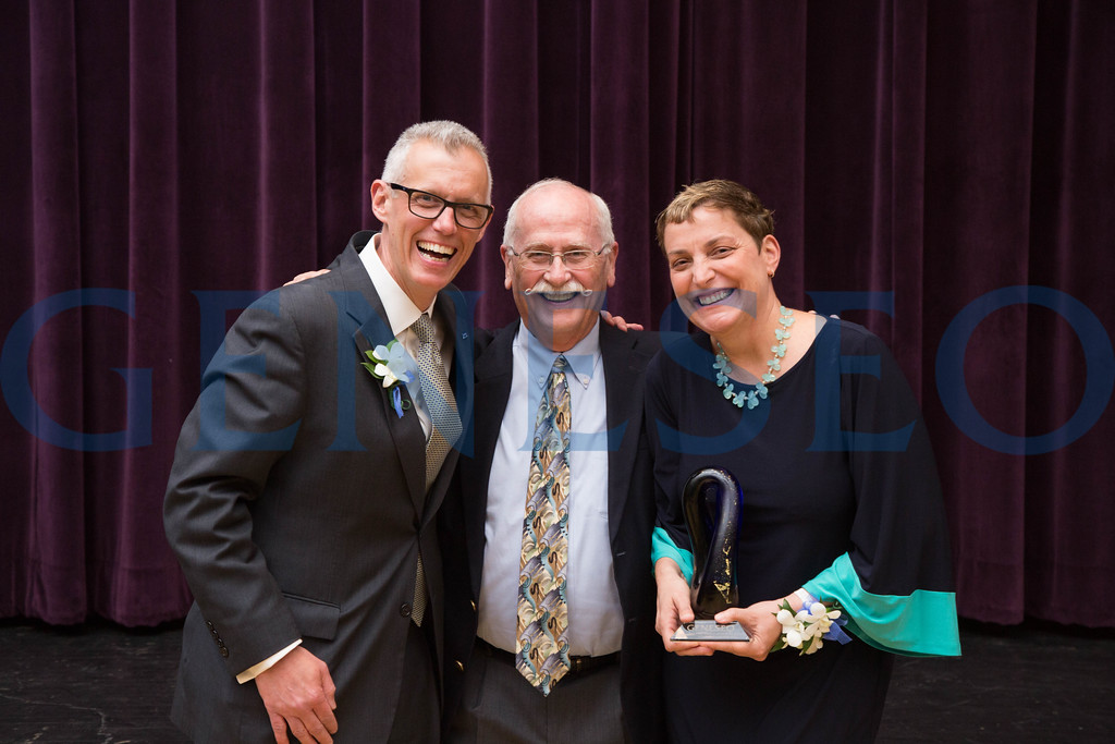 John and MaryGrace Gleason with Tom Matthews