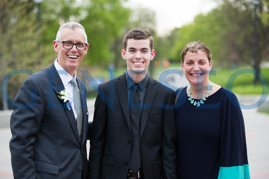 John and MaryGrace Gleason with Kitrick McCoy