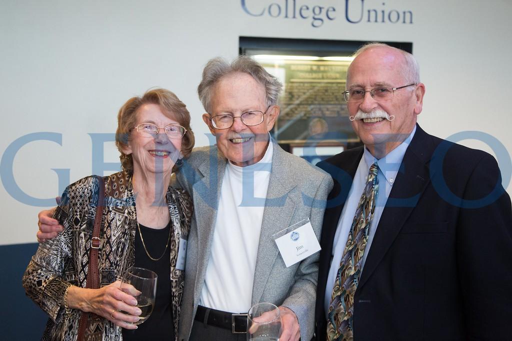 Arlene and Jim Somerville, Tom Matthews