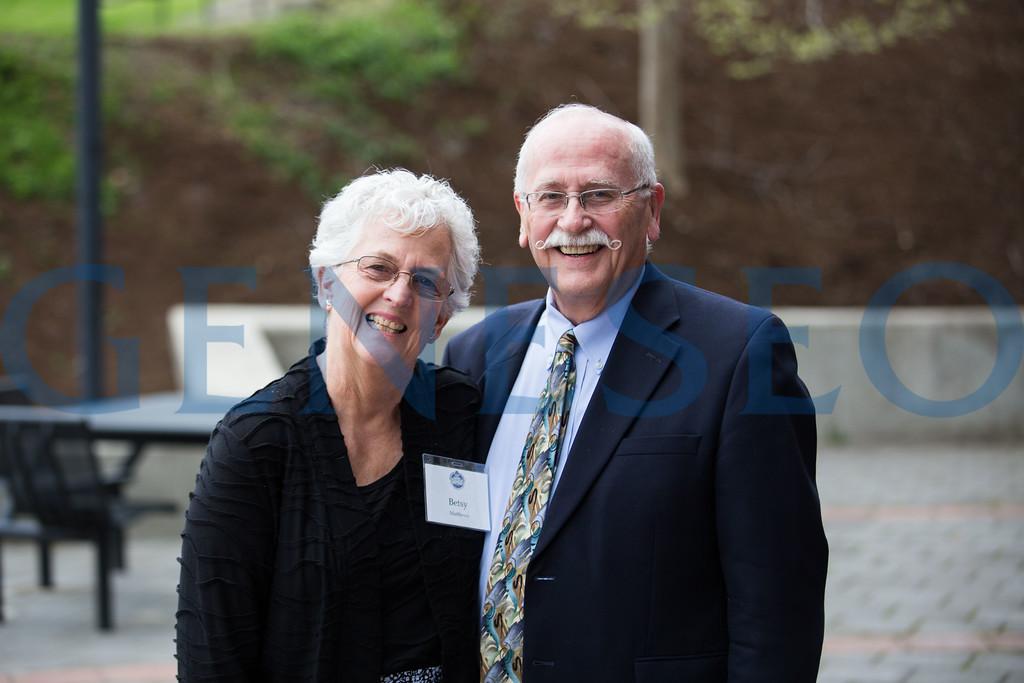 Betsy and Tom Matthews