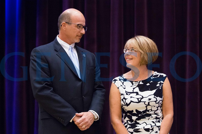 Michael '87 Mike and Sarah '88 Grammatico receive the Distinguished Service Award