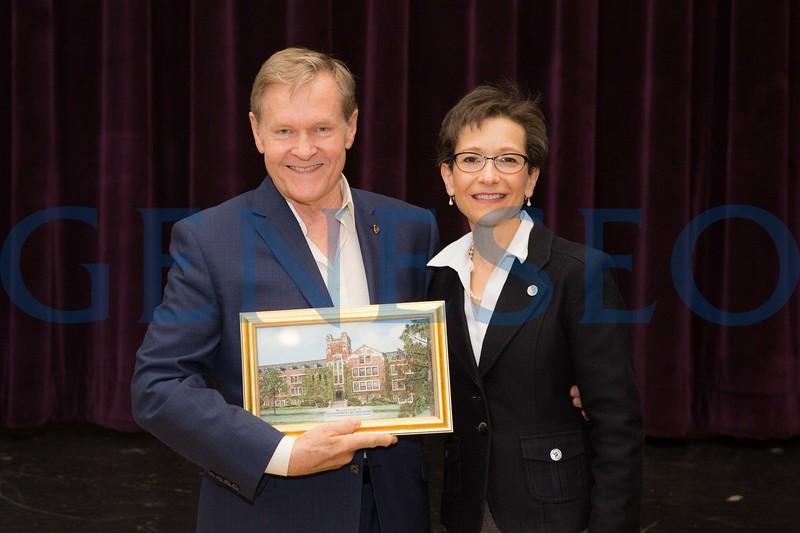 William (Bill) Sadler receives the Professional Achievement Award