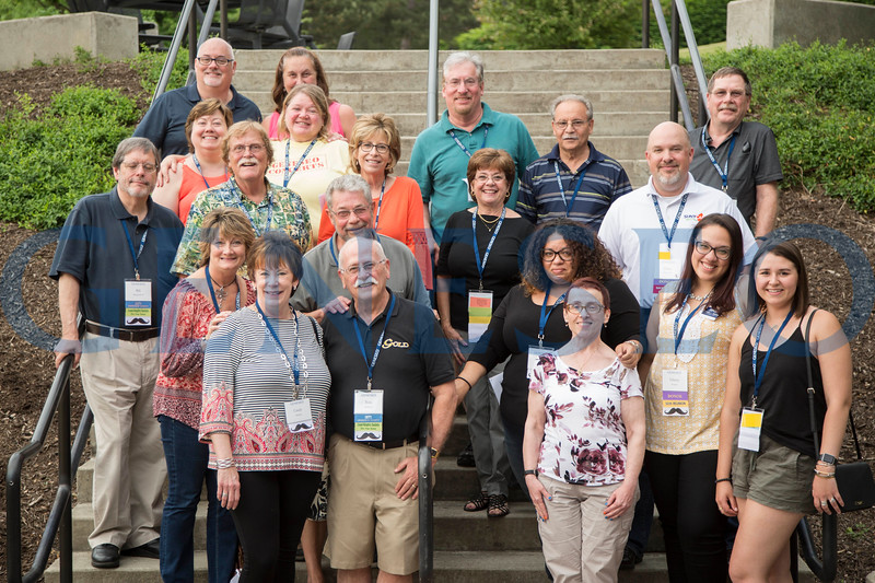 Activities Commission and GCAB 50th reunion group photo