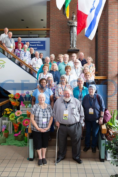 Class of 1968 celebrating as the fifty 50 year club