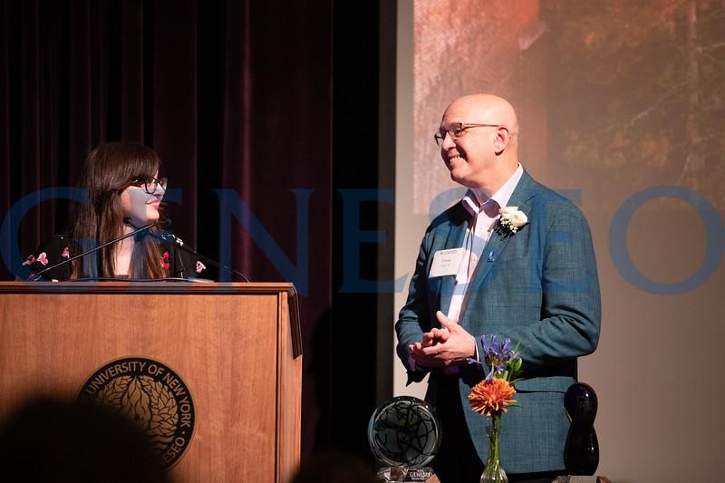 Frank Vafier and Nicole Callahan