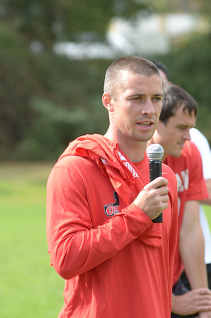 Alumni soccer 2012