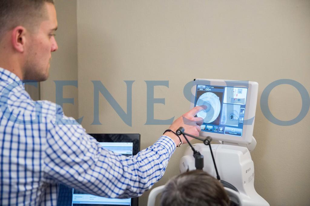 Clint Sugnet '09 Knightlight alumnus optometrist