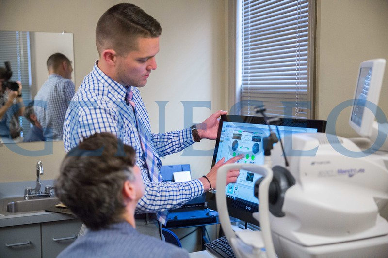 Clint Sugnet '09 Knightlight alumnus optometrist