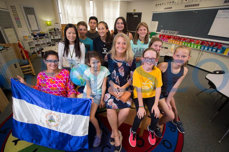 Jeanine LUPISELLA alumni portrait classroom building schools in nicaragua fall 2017 KW