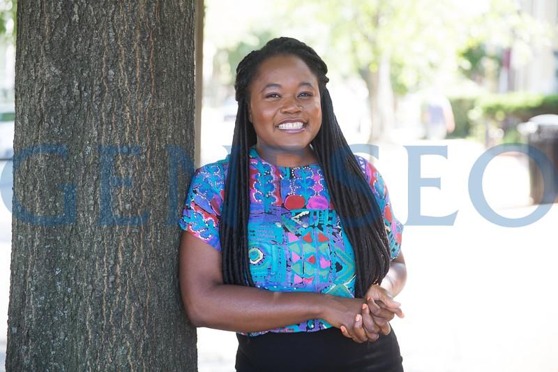 Summer Fall 2017 Rahama Wright '02 owner of shea yaleen former peace corps volunteer alumni profile Washington D.C. KW