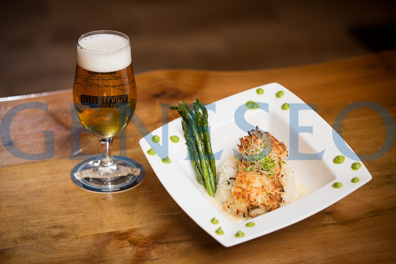 Beer: Coco Commander and Coconut crusted Cod