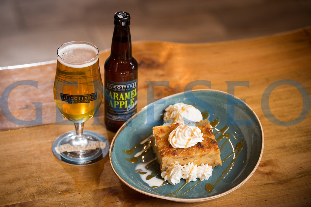 Caramel Apple Cuvee and Bread Pudding