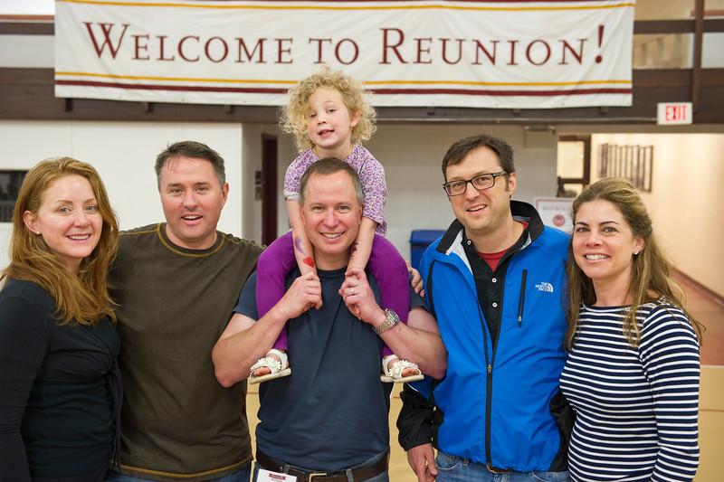 Boston College alumni celebrate Reunion Weekend 2012.