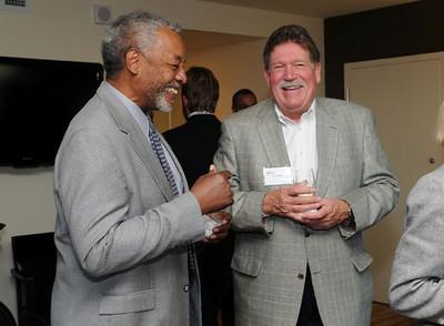 Joseph A. Heastie, MPA '84  (1997-1998)and Jeffery Johnson, BS Business Administration '75  (1999-2000)