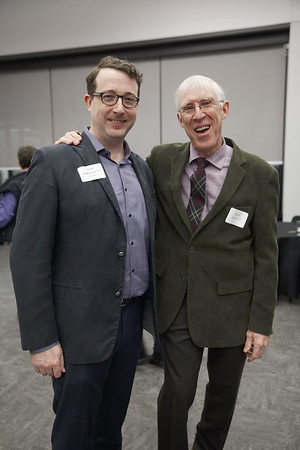 Sean Flahaven '91 and Dutton Foster '57