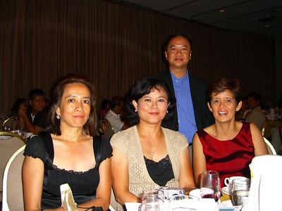 Aye Khin Tu, Wah Wah Thi, Khin Sein Yin & Peter Leong (all 82ers) Baltimore, Aug 5 2006 photo credit: peter