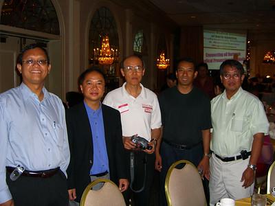Ko Thein Hlaing Oo, Peter Leong, Saya Stan Ting, Ko Than Naing Oo and Saya Phone Myint Win photo credit: peter