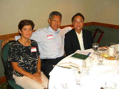 Khin Sein Yin, Ko Than Win (KSY's hubby) & Peter Leong photo credit: peter