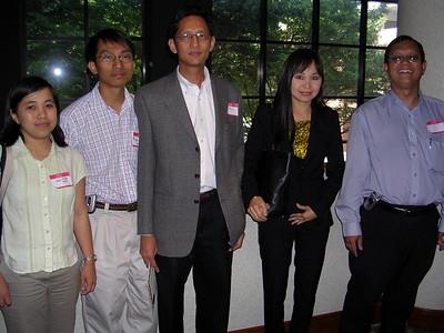 Dr Mya Sanda Thein, Dr Aye Min, Dr Win Htein, Dr Htar Htar Aye & Dr Thein Hlaing Oo        photo credit: Mya Sanda Thein/Htar Htar Aye