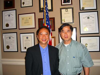 Peter Leong & Saya U Min Oo (Pediatrics, RCH) photo credit: peter