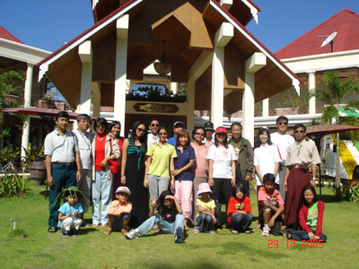 New Year Vacation in Chaung Tha (six families) Dec 29, 2005 photo credit: Aung Shwe Saw