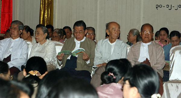 teachers at Class of 1977 Reunion (Dec 2005) photo credit: Kyaw Thett Naing