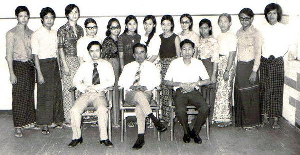 1975: preblock- Medicine rotat photo credit: Nyi Nyi Han/Kyaw Thett Naing