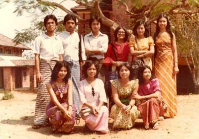 Class 84,IM2 2nd MB May 1979 - Sep 1980 photo credit: Myatmun Kha/SuSu HanKhin