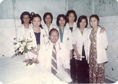 1983  Surgery 13&14 Class of 76-82, IM1 photo credit: Ma Khin Tint