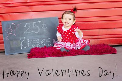 Alverado Valentine/1st Birthday