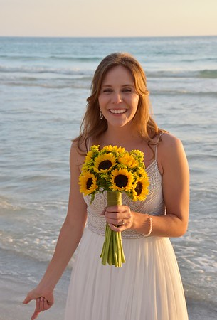 Beautiful wedding at Anna Maria Island, FL