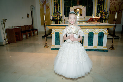 Alyssa Mia's Communion
