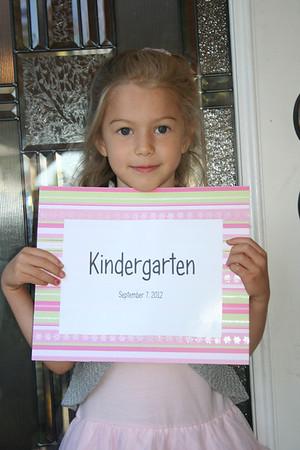 Alyssa's First Days of Kindergarten