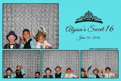 Alyssa's Sweet 16 - 06.10.16