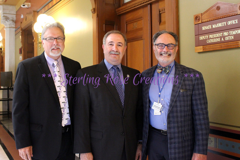 Ed Bryan, Representative John Steinberg, Kinson Perry