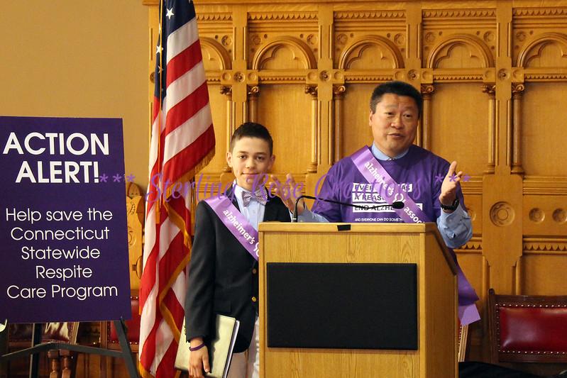 Senator Tony Hwang & Max Rosenberg