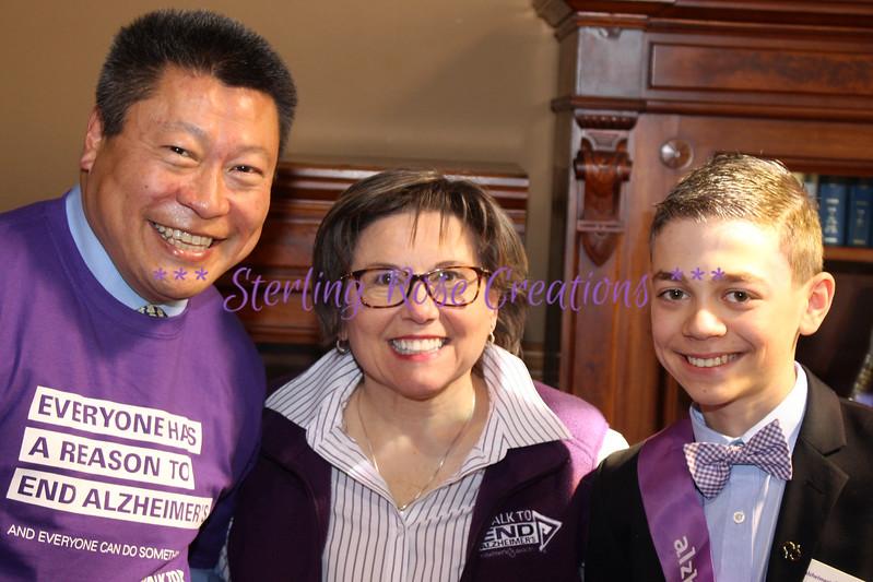 Senator Tony Hwang & Rose Vigdal & Max Rosenbery