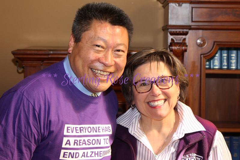 Senator Tony Hwang & Rose Vigdal