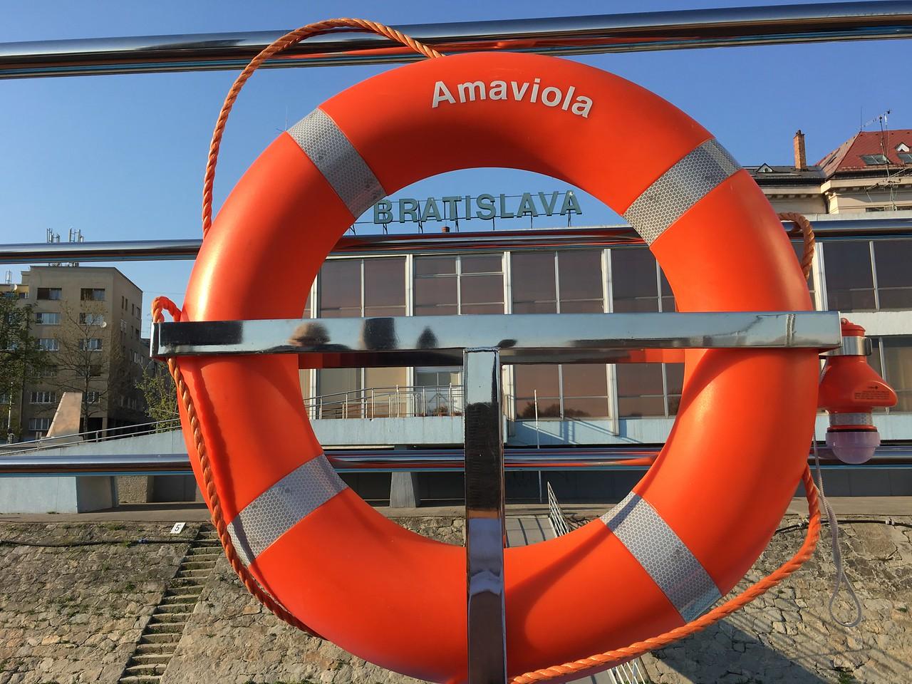 Ama Viola Docked In Bratislava