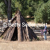 Traditional Cedar Bark Tipi, Chawse