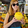 There were ginormous lemons in the Amalfi coast.  Here is one that is almost the size of my head.